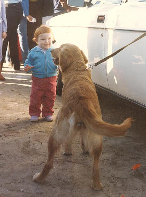 Wordless Wednesday…I guess I've always loved Goldens!