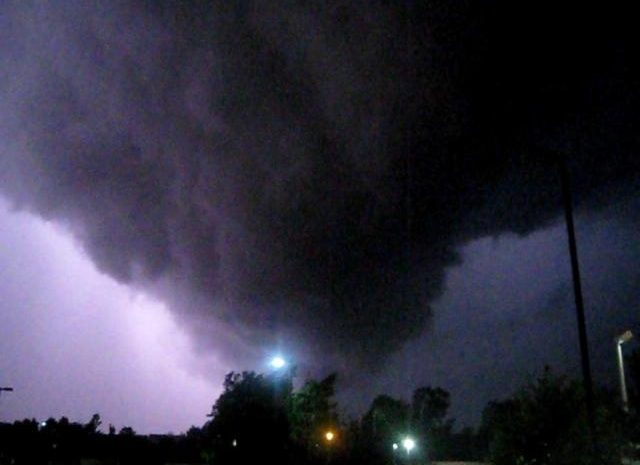 I survived my first tornado! Sort of…