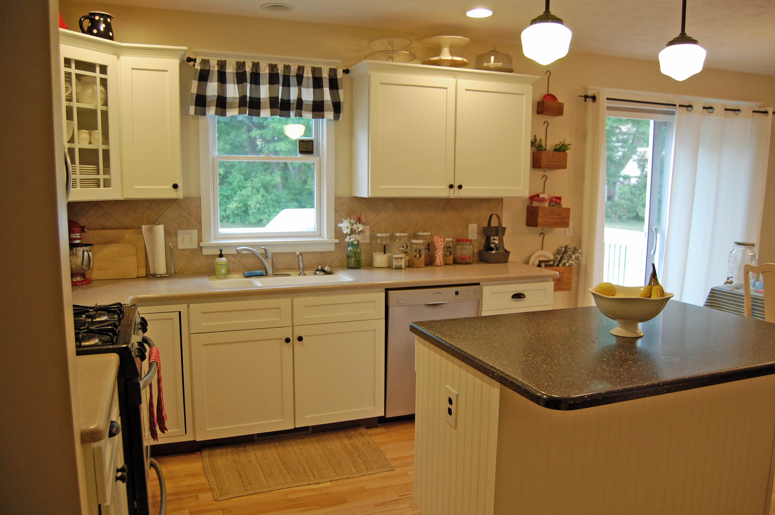 kitchen cabinet makeover before and after the girl in the red shoes