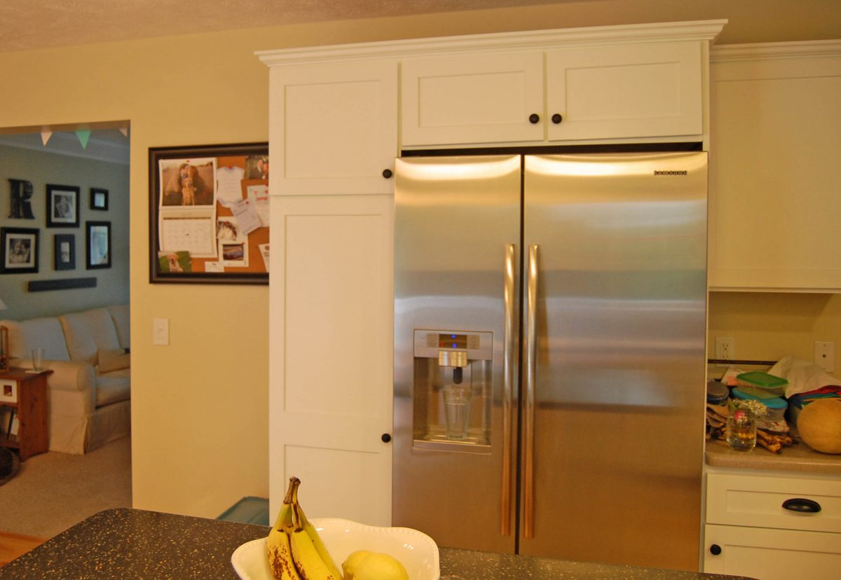 Kitchen Transformation Before And After: Kitchen Cabinet Makeover: Before And After · The Girl In