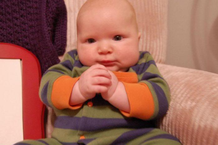 Happy 3 Months Hudson!