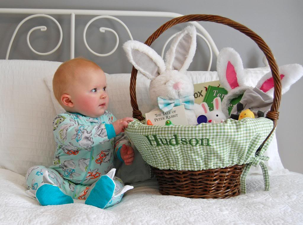 Babys first easter basket the girl in the red shoes photo dsc0303g and yesthe basket negle Image collections