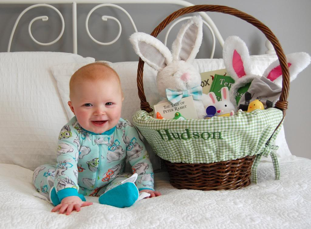 Babys first easter basket the girl in the red shoes negle Images