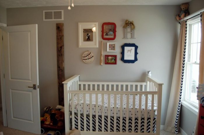 Baby-Proof Gallery Wall
