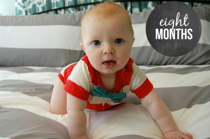 Happy 8 Months Hudson