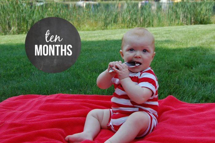 Happy 10 Months Hudson!