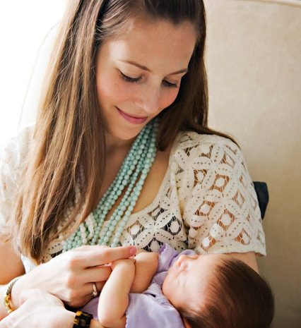 The Breastfeeding Diaries: Erinn from Strawberry Swing and Other Things