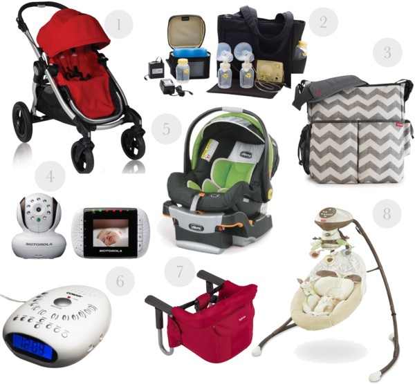 Baby must haves: the big stuff