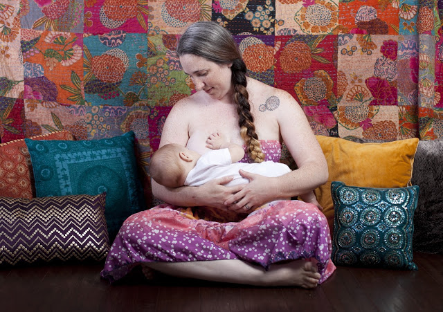 The Breastfeeding Diaries: Jessica from The Reinvention of Jessica