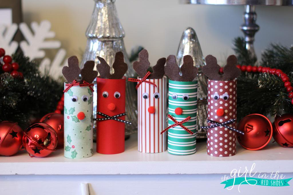 Toilet Paper Rolls Christmas Decorations | Breathtakingly Rustic Homemade Christmas Decorations