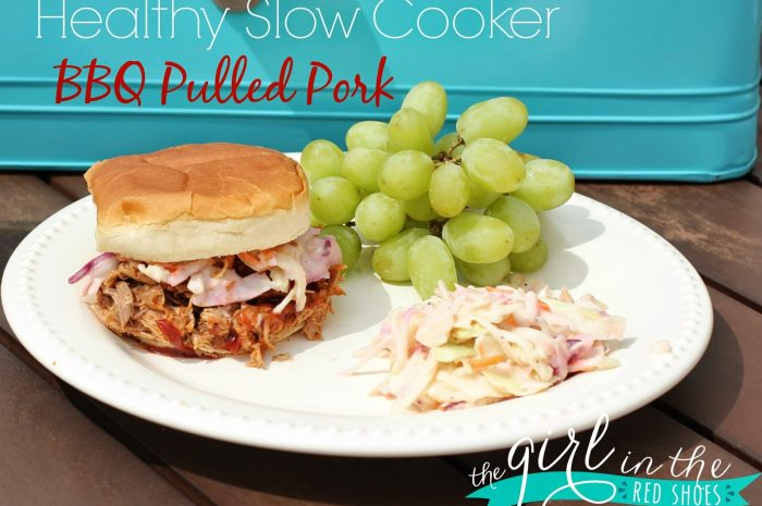 Healthy Slow Cooker BBQ Pulled Pork