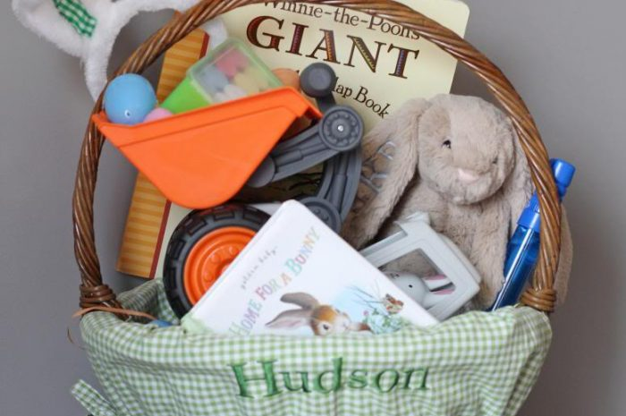 Hudson's Easter Basket…and a Giveaway!