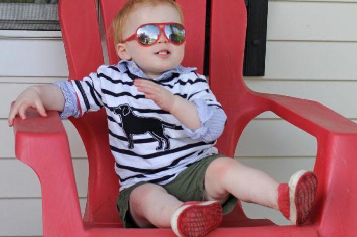 Hudson wears Sugar Bit…and a Giveaway!