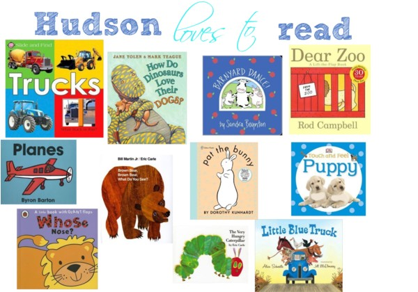 Hudson's favorite books