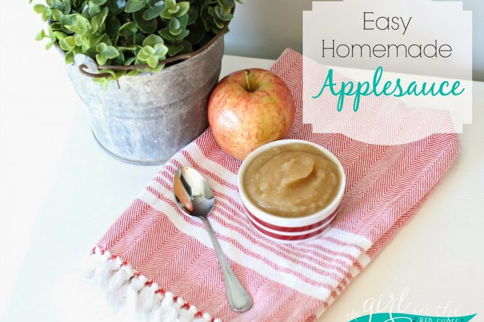 Homemade Applesauce and Cuisinart Giveaway!