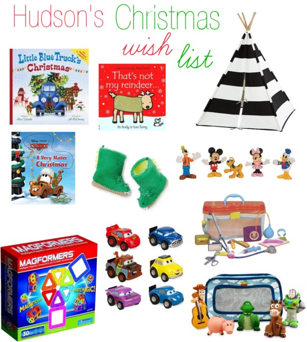 Hudson's Christmas Wish List