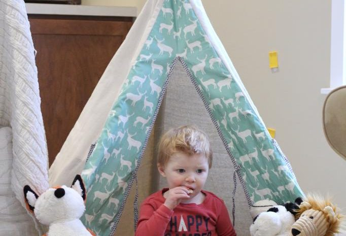 Pillow Fort Fun and Popcorn Munchie Snack Mix