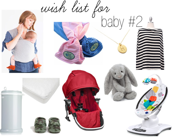 Wish List for Baby #2