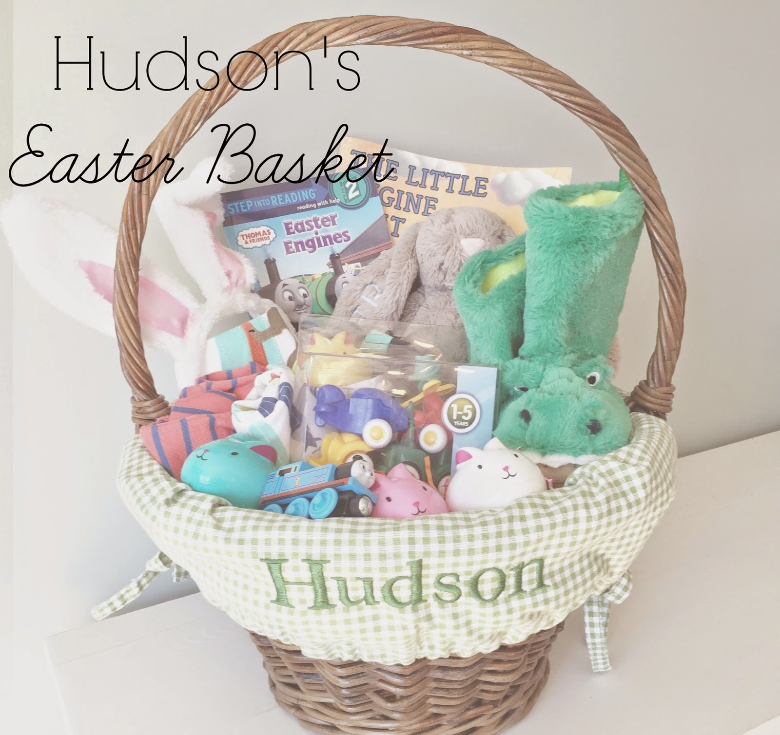 Hudsons easter basket the girl in the red shoes hudsons easter basket negle Choice Image