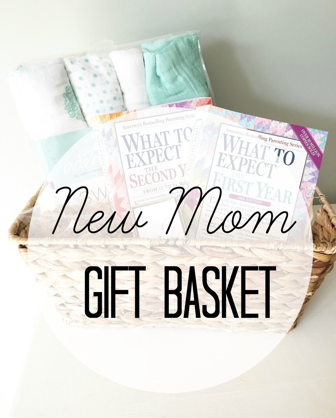 New Mom Gift Basket The Girl In Red Shoes