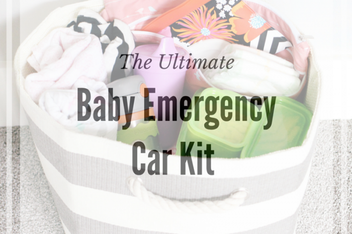 The Ultimate Baby Emergency Car Kit