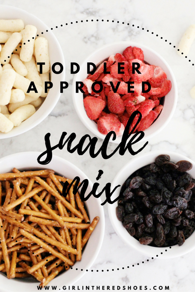 Toddler Approved Snack Mix