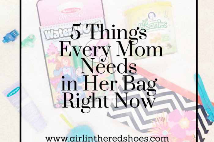 5 Things Every Mom Needs in Her Bag Right Now