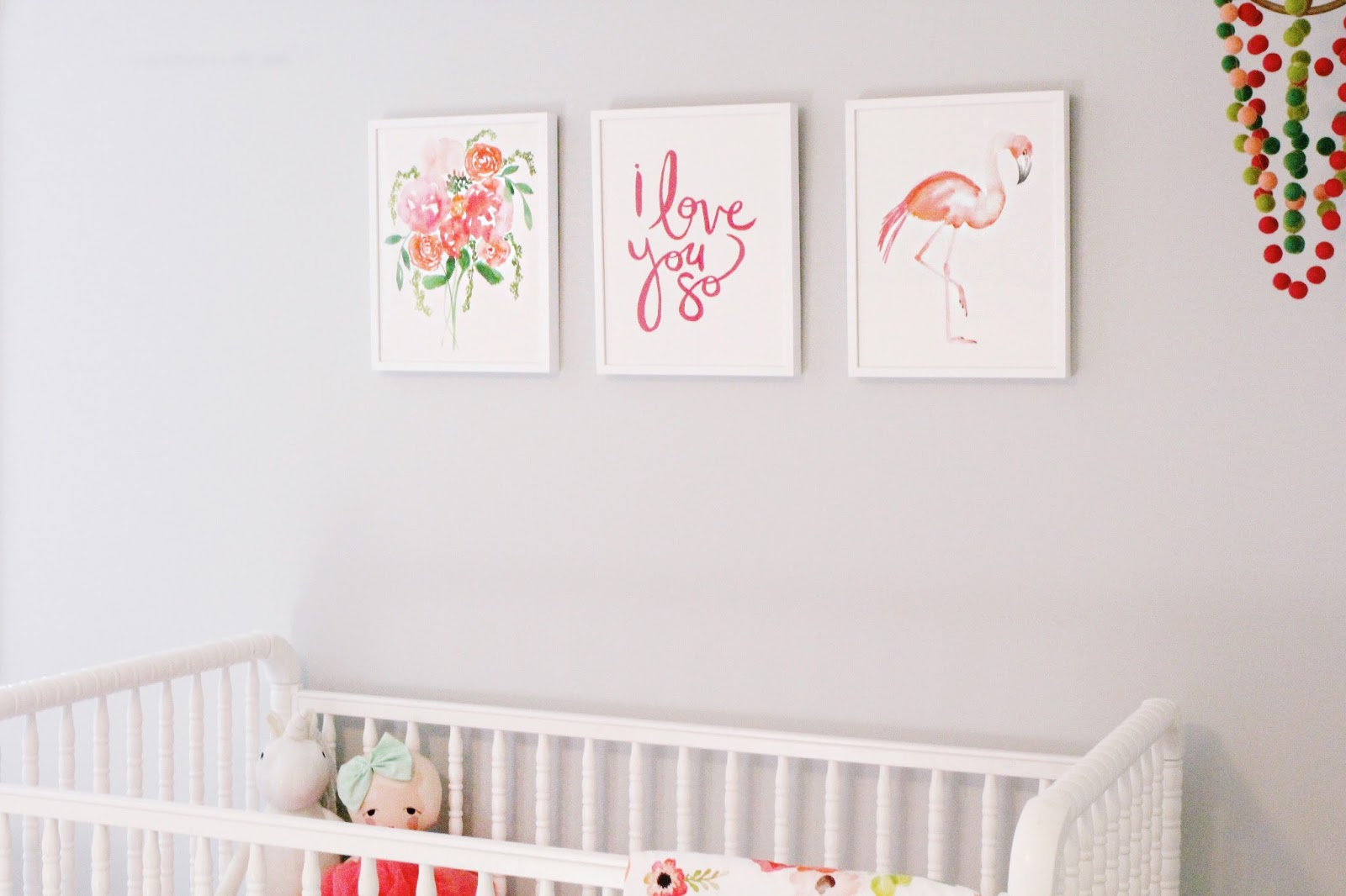 I Just Love The Colors Everything Is So Bright And Cheerful There S Whimsy Yet It Doesn T Scream Baby Nursery M Sure She Ll Have This Artwork For A