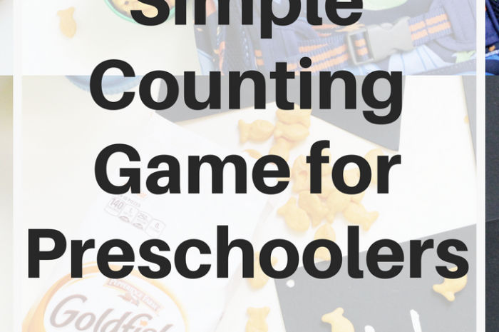 Simple Counting Game for Preschoolers
