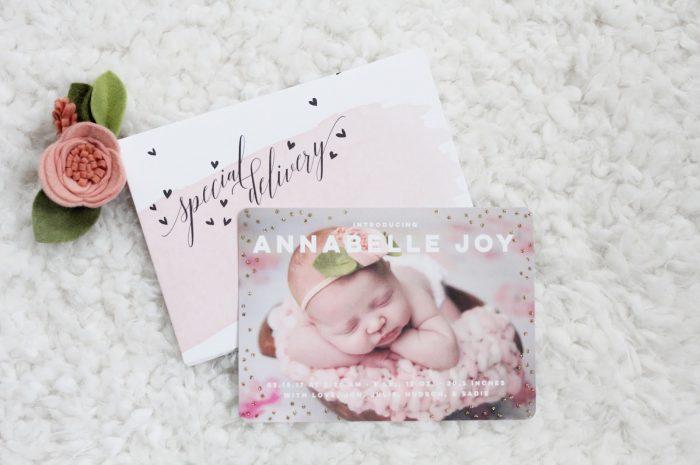 Annabelle's Birth Announcements