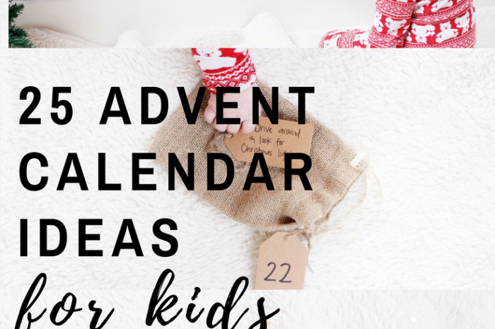25 Advent Calendar Ideas for Kids