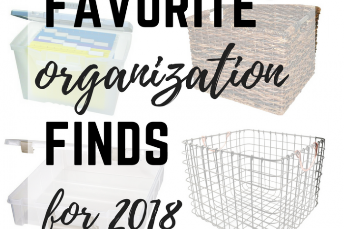 Favorite Organization Finds for 2018