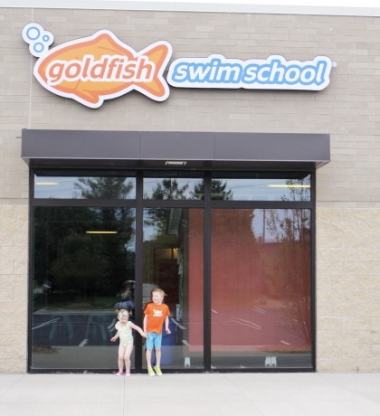 Goldfish Swim School FUN!