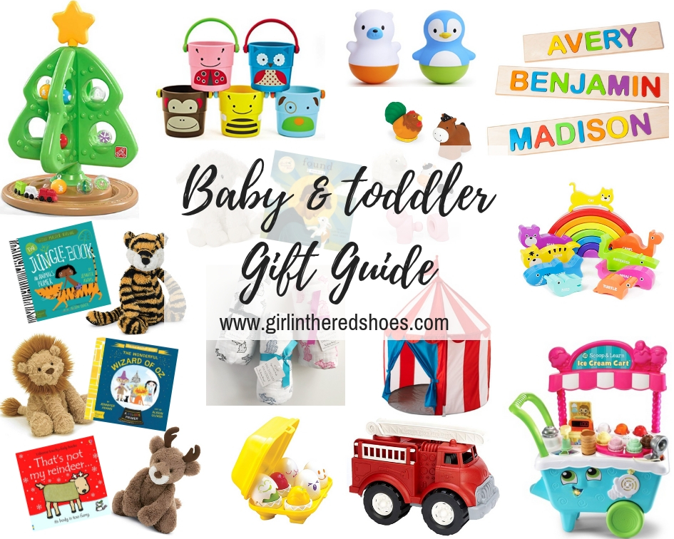 Babies are by far the most fun to buy for but I really try not to go overboardu2026since babies donu0027t need much! Lots of these ideas are gifts that will be ...  sc 1 st  The Girl in the Red Shoes & Baby and Toddler Gift Guide · The Girl in the Red Shoes