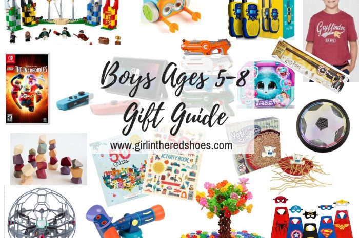 Boys Ages 5-8 Gift Guide