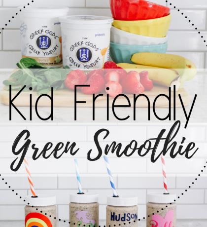 Kid Friendly Green Smoothie