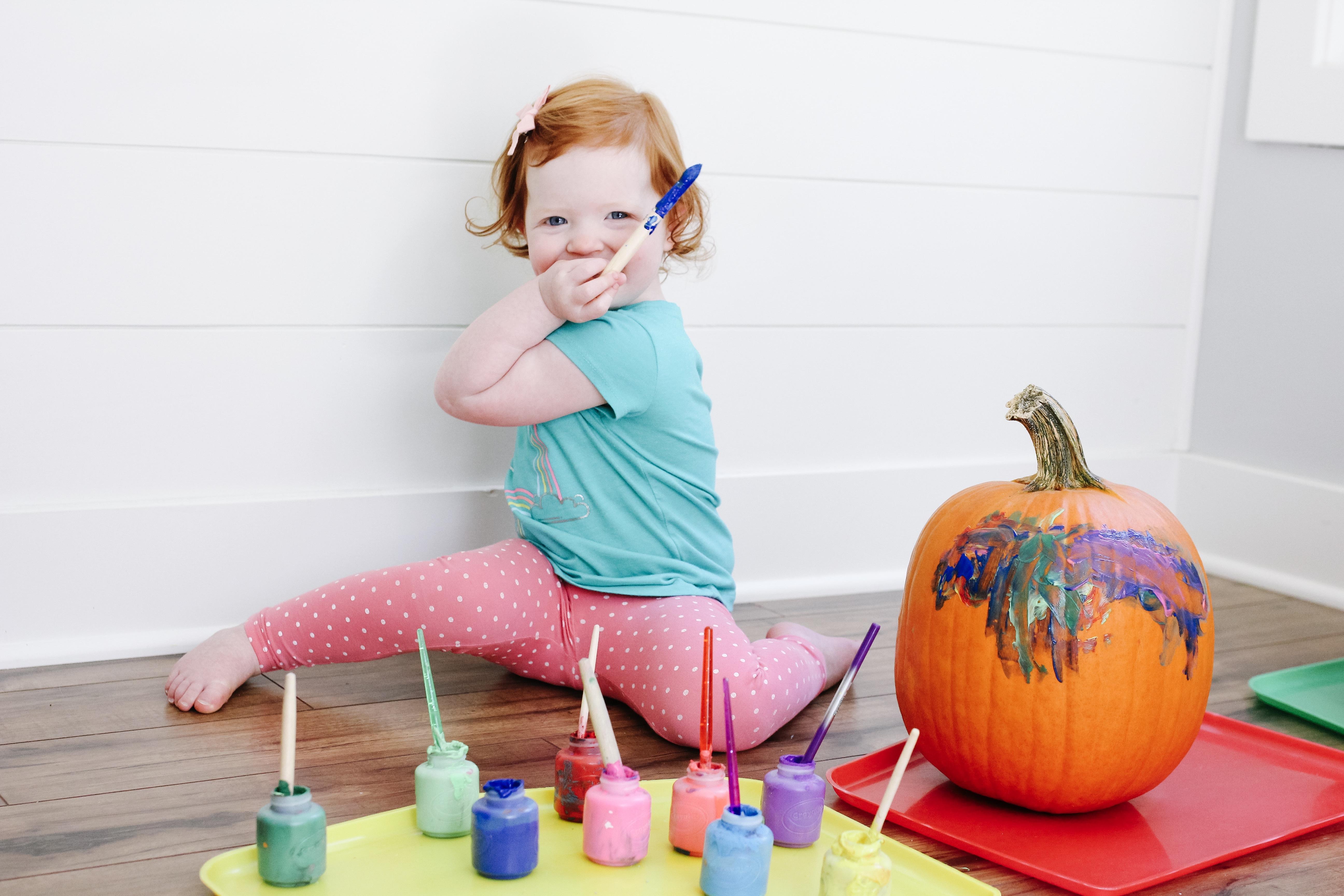 3 Pumpkin Decorating Ideas for Kids