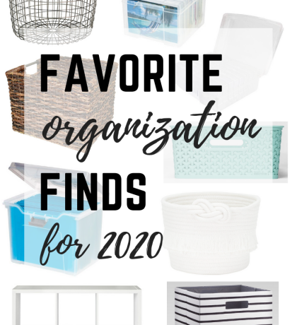 Favorite Organization Finds for 2020
