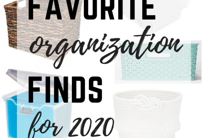Favorite Organization Finds for 2020