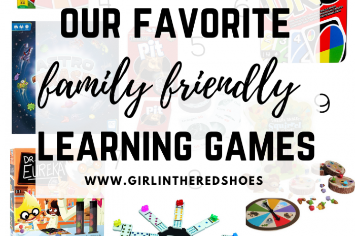 Our Favorite Family Friendly Learning Games
