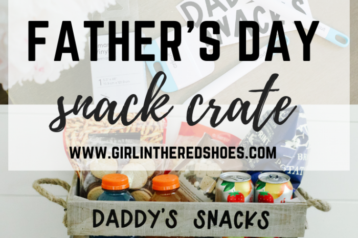 Personalized Father's Day Snack Crate