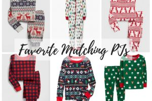 Favorite Christmas Pajama Roundup