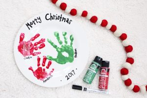 DIY Handprint Plate