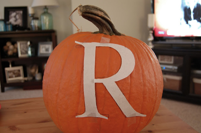 Love it…Keep it: Personalized Pumpkin