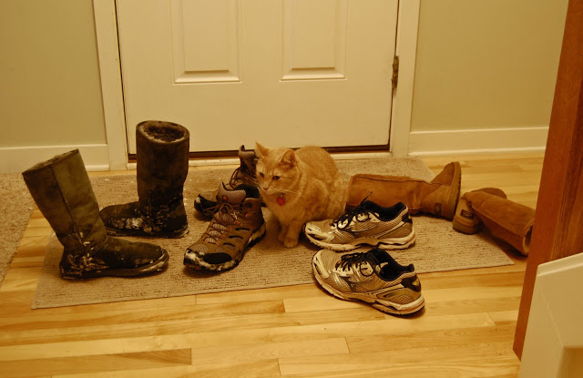 Wordless Wednesday: Winter Boot Pile-Up!