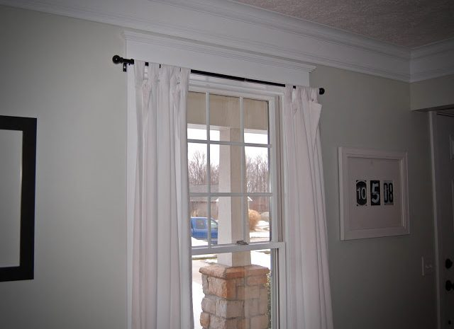 Simple curtain switch up