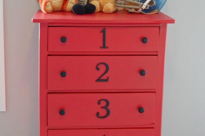 Baby's Dresser….and Nursery Updates