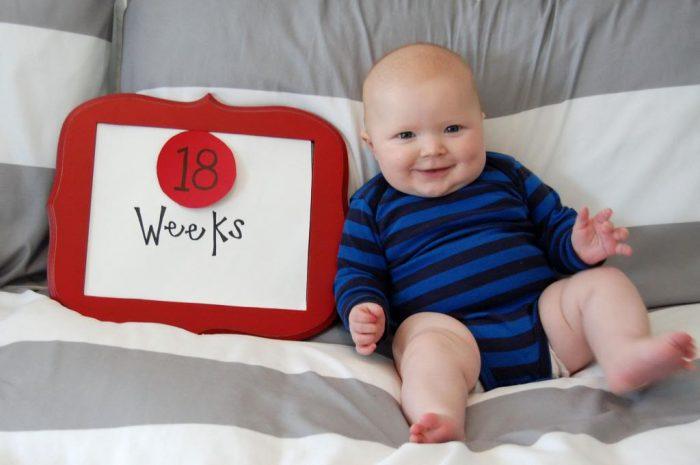 Happy 4 Months Hudson!
