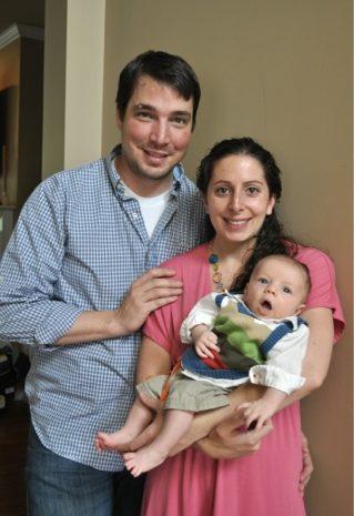 The Breastfeeding Diaries: Jen from David + Jen = Max