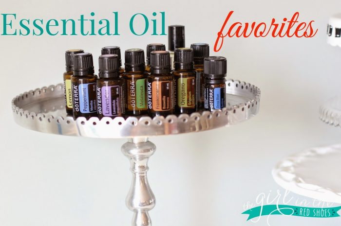 Essential Oil Favorites…and a giveaway!